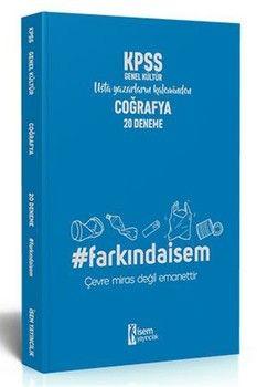İsem Yayınları 2020 KPSS Genel Kültür Coğrafya Farkındaİsem 20 Deneme
