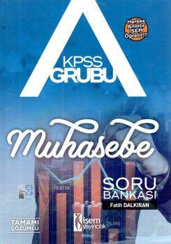 İsem Yayınları KPSS A Grubu Muhasebe Soru Bankası