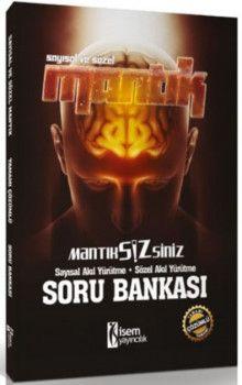 İsem Yayınları KPSS Mantık Sizsiniz Sayısal Sözel Mantık Tamamı Çözümlü Soru Bankası