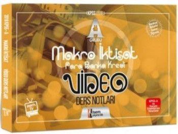İsem Yayınları 2018 KPSS A Grubu Makro İktisat Video Ders Notları
