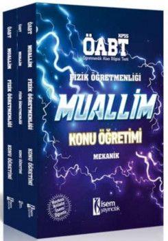 İsem Yayınları ÖABT Muallim Fizik Öğretmenliği Konu Anlatımlı Modüler Set