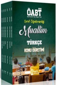 İsem Yayınları 2018 ÖABT Muallim Sınıf Öğretmenliği Konu Anlatımlı Modüler Set