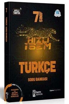 İsem Yayınları 7. Sınıf Türkçe Hızlı İsem Soru Bankası