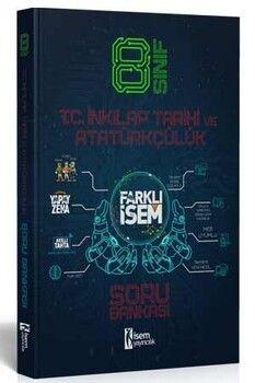 İsem Yayınları 8. Sınıf T.C. İnkılap Tarihi ve Atatürkçülük Farklı İsem Soru Bankası