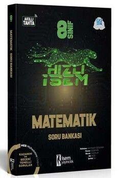 İsem Yayınları 8. Sınıf Matematik Hızlı İsem Soru Bankası