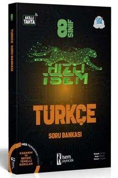 İsem Yayınları 8. Sınıf Türkçe Hızlı İsem Soru Bankası