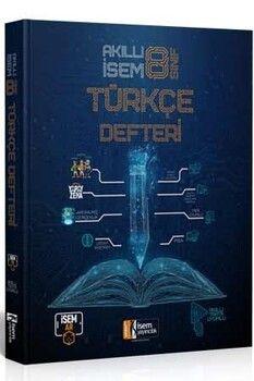 İsem Yayınları 8. Sınıf Türkçe Akıllı İsem Defteri