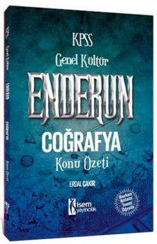 İsem Yayınları 2018 KPSS Enderun Coğrafya Konu Özeti