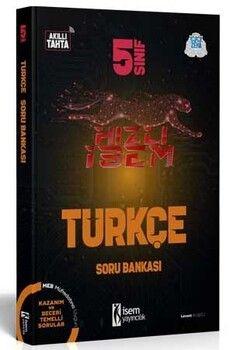 İsem Yayınları 5. Sınıf Türkçe Hızlı İsem Soru Bankası