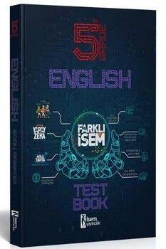 İsem Yayınları 5. Sınıf İngilizce Farklı İsem Soru Bankası