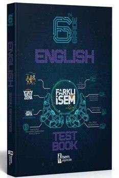 İsem Yayınları 6. Sınıf İngilizce Farklı İsem Soru Bankası