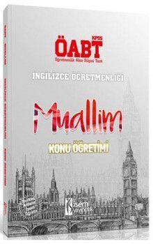 İsem Yayınları ÖABT Muallim İngilizce Öğretmenliği Konu Öğretimi