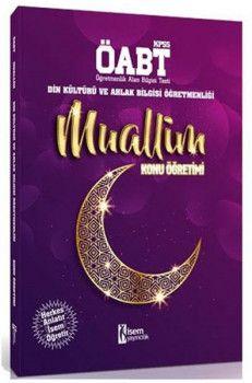 İsem Yayınları ÖABT Muallim Din Kültürü ve Ahlak Bilgisi Öğretmenliği Konu Öğretimi
