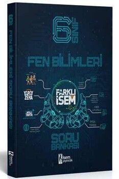 İsem Yayınları 6. Sınıf Fen Bilimleri Farklı İsem Soru Bankası