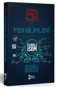 İsem Yayınları 5. Sınıf Fen Bilimleri Farklı İsem Soru Bankası
