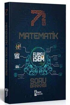İsem Yayınları 7. Sınıf Matematik Farklı İsem Soru Bankası