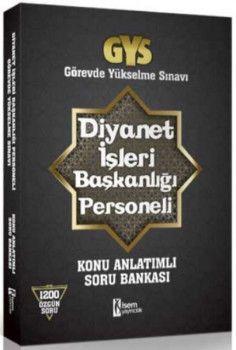 İsem Yayınları GYS Diyanet İşleri Başkanlığı Personeli Görevde Yükselme Sınavı Konu Anlatımlı Soru Bankası
