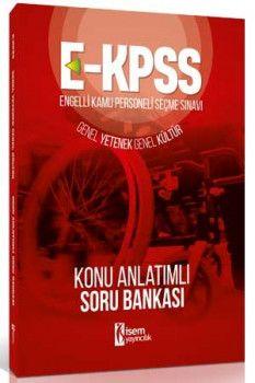 İsem Yayınları E KPSS Genel Yetenek Genel Kültür Konu Anlatımlı Soru Bankası