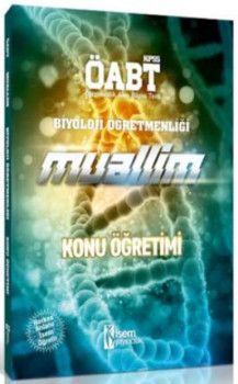 İsem Yayınları ÖABT Muallim Biyoloji Öğretmenliği Konu Öğretimi