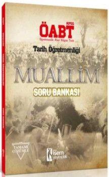 İsem Yayınları ÖABT Muallim Tarih Öğretmenliği Tamamı Çözümlü Soru Bankası