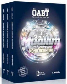 İsem Yayınları ÖABT Muallim İlköğretim Matematik Öğretmenliği Konu Öğretimi Modüler Set