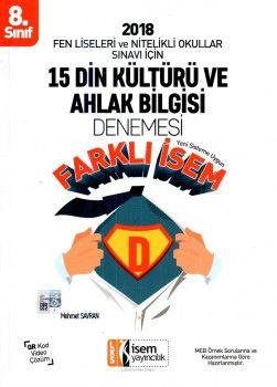 İsem Yayınları 8. Sınıf Din Kültürü ve Ahlak Bilgisi 15 Deneme