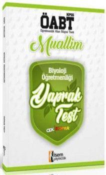 İsem Yayınları ÖABT Muallim Biyoloji Öğretmenliği Çek Kopar Yaprak Test
