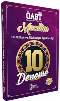 İsem Yayınları ÖABT Muallim Din Kültürü ve Ahlak Bilgisi Öğretmenliği Tamamı Çözümlü 10 Deneme
