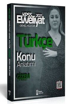 İsem Yayınları 2021 KPSS Türkçe Konu Anlatımı