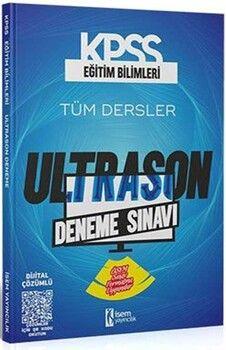 İsem Yayınları 2021 KPSS Eğitim Bilimleri ÖSYM Tarzı UltraSon Deneme Sınavı