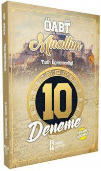 İsem Yayınları ÖABT Muallim Tarih Öğretmenliği Tamamı Çözümlü 10 Deneme