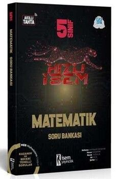 İsem Yayınları 5. Sınıf Matematik Hızlı İsem Soru Bankası
