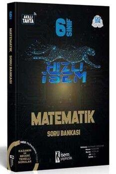 İsem Yayınları 6. Sınıf Matematik Hızlı İsem Soru Bankası