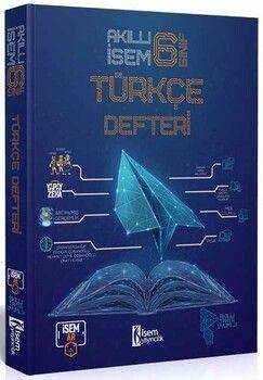 İsem Yayınları 6. Sınıf Türkçe Akıllı Defteri