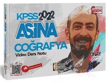 İsem Yayınları 2022 KPSS Coğrafya Aşina Video Ders Notu