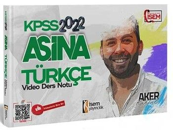 İsem Yayınları 2022 KPSS Aşina Türkçe Video Ders Notu