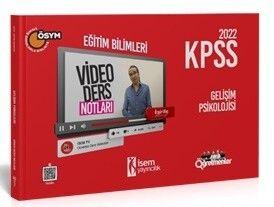 İsem Yayınları 2022 KPSS Eğitim Bilimleri Gelişim Psikolojisi Video Ders Notu