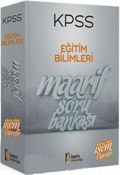 İsem Yayınları 2019 KPSS Eğitim Bilimleri Maarif Modüler Soru Bankası Seti