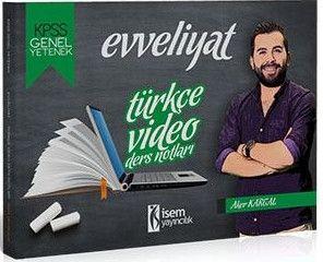 İsem Yayınları KPSS Türkçe Video Ders Notları