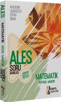İsem Yayınları ALES Matematik Sayısal Mantık Soru Bankası