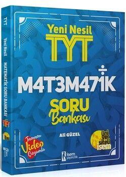 İsem Yayınları TYT Matematik Yeni Nesil Video Çözümlü Soru Bankası
