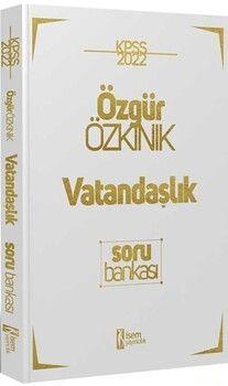 İsem Yayınları 2022 KPSS Genel Kültür Vatandaşlık Çözümlü Soru Bankası