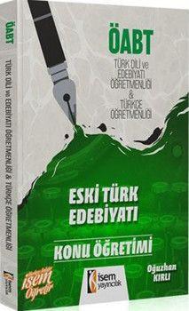İsem Yayınları ÖABT Türk Dili ve Edebiyatı Öğretmenliği Türkçe Öğretmenliği Konu Öğretimi