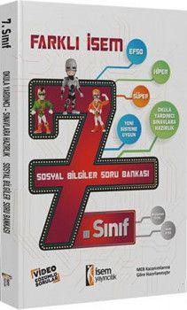 İsem Yayınları 7. Sınıf Sosyal Bilgiler Farklı İsem Soru Bankası