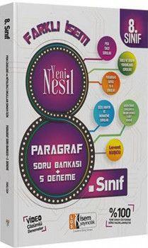 İsem Yayınları 8. Sınıf Farklı İsem Yeni Nesil Paragraf Soru Bankası + 5 Deneme