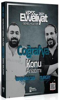 İsem Yayınları2021 Evveliyat KPSS Coğrafya Konu Anlatımı