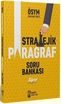 İsem Yayınları2021 Tüm Sınavlar İçin Stratejik Paragraf Soru Bankası