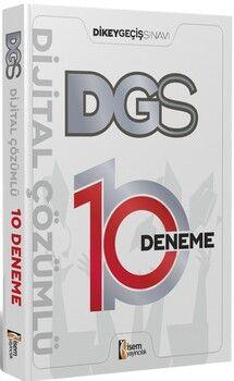 İsem Yayınları2021 DGS Dijital Çözümlü 10 Deneme Sınavı
