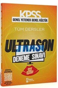 İsem Yayınları2021 KPSS Genel Yetenek Genel Kültür ÖSYM Tarzı UltraSon Deneme