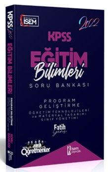 İsem Yayınları2022 KPSS Eğitim Bilimleri Program Geliştirme Çözümlü Soru Bankası